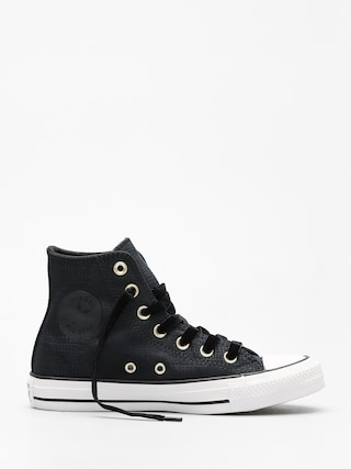 Converse Chucks Chuck Taylor All Star Hi (black/black/white)