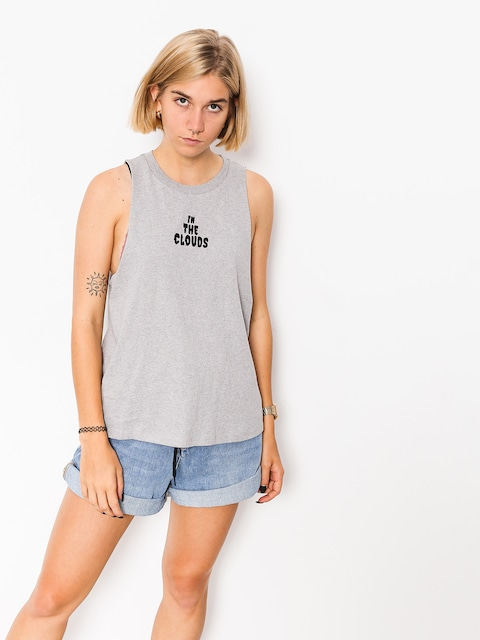 Volcom T-Shirt Get High Neck Wmn (hgr)