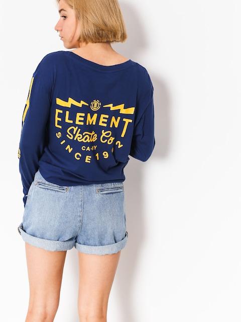 Element Longsleeve Zap Wmn (boise blue)