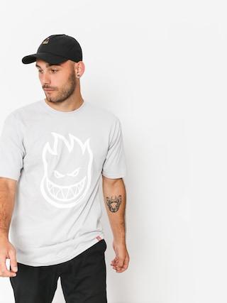 Spitfire T-shirt Bighead (silver/white)