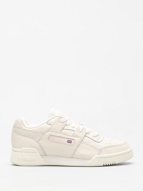 Reebok Schuhe Workout Lo Plus Wmn (vintage white/practical pink)