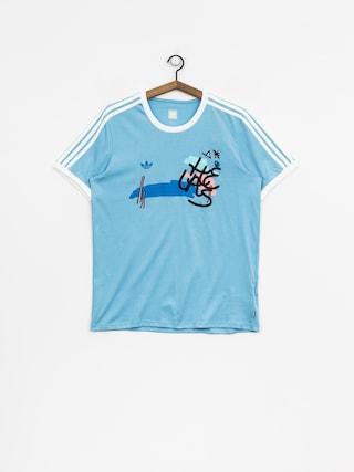 adidas T-Shirt Helas (clblue/white)