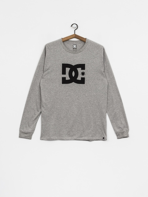 DC Longsleeve Star (grey heather)