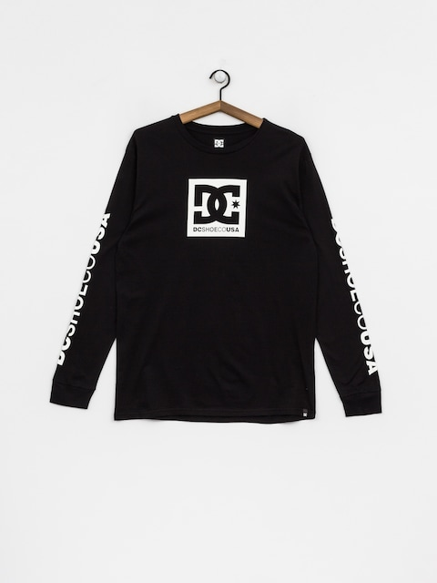 DC Longsleeve Square Star (black)