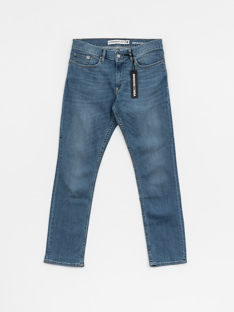 DC Hose Worker Straight (light indigo bleach)