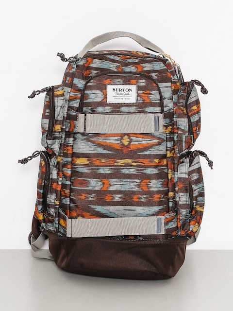 Burton Backpack Distortion (painted ikat print)