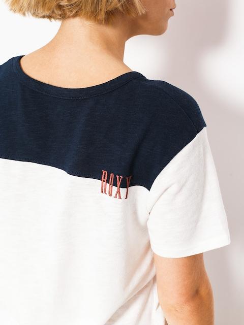 Roxy T-Shirt Myfavoritethinb Wmn (marshmallow/dress bl)