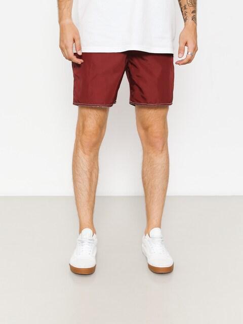 Brixton Boardshorts Bering II Trunk (burgundy/white)
