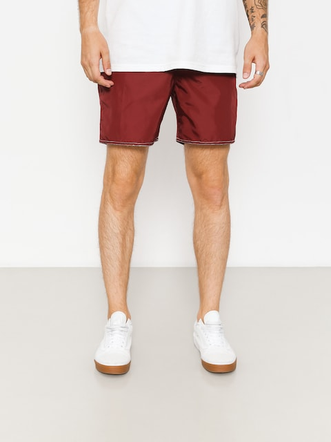 Brixton Shorts Boardshorty Bering II Trunk (burgundy/white)