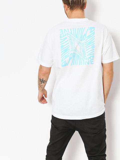 Primitive T-shirt Warped Pocket (white)