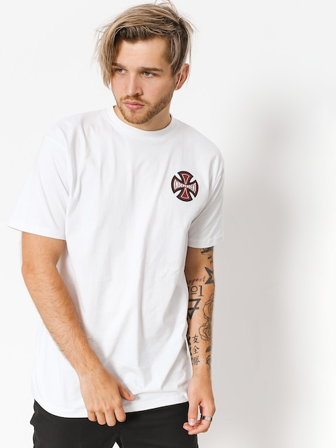Independent T-Shirt 2 Colour Tc (white)