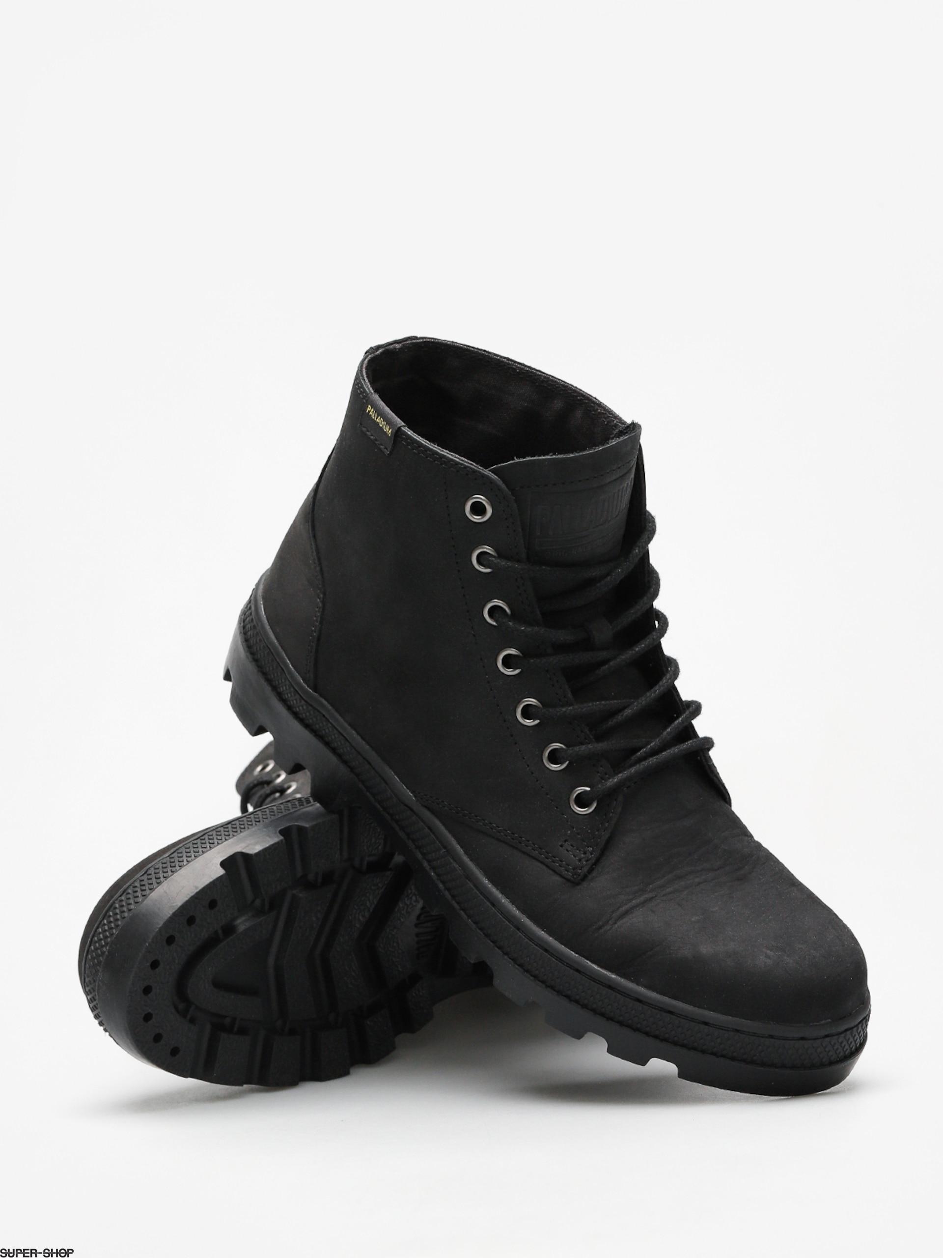 Palladium Shoes Pallabosse Mid (black