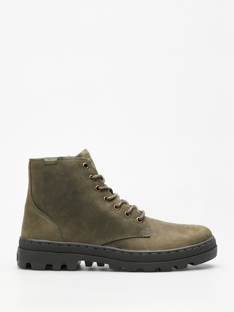 Palladium Shoes Pallabosse Mid (olive night/beluga)