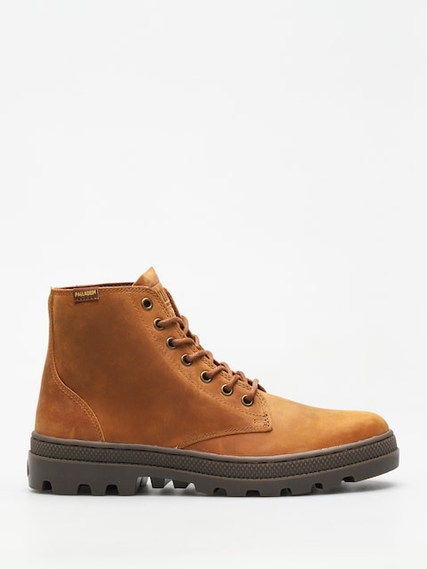 Palladium Shoes Pallabosse Mid (sunrise/dk gum)