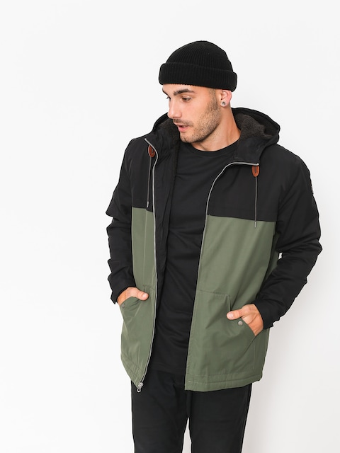 Quiksilver Jacket Wanna (black/thyme)