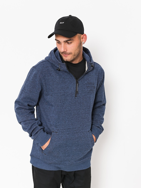 Quiksilver Hoody Yattemi HD (bijou blue heather)