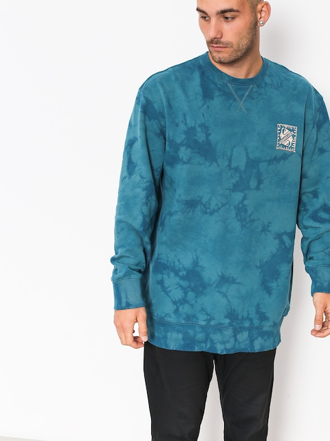 Quiksilver Sweatshirt Volcanic Ocean Crew (tapestry)