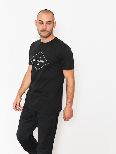 Quiksilver T-Shirt Fluid Flow (black)