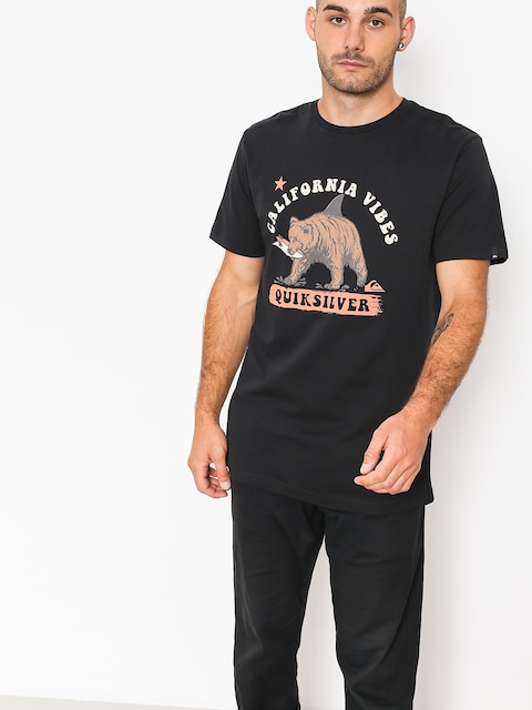 Quiksilver T-Shirt Bear Shark (black)