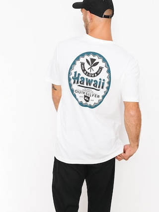 Quiksilver T-shirt Hibeer Tee (white)