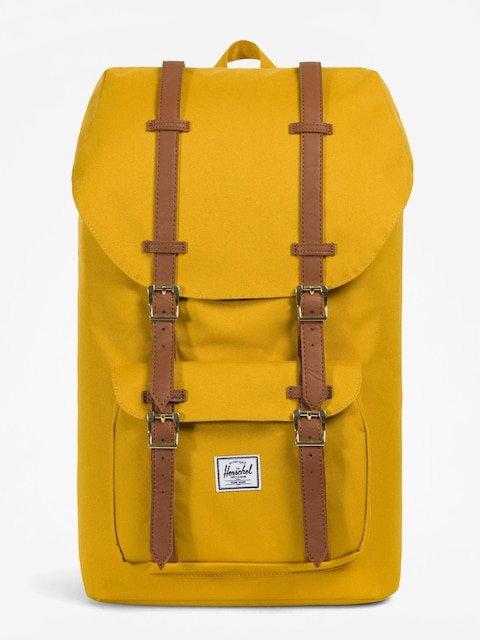 Herschel Supply Co. Rucksack Little America (arrowwood/tan synthetic leather)