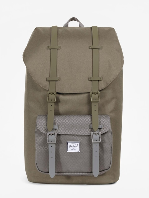 Herschel Supply Co. Rucksack Little America (ivy green/smoked pearl)
