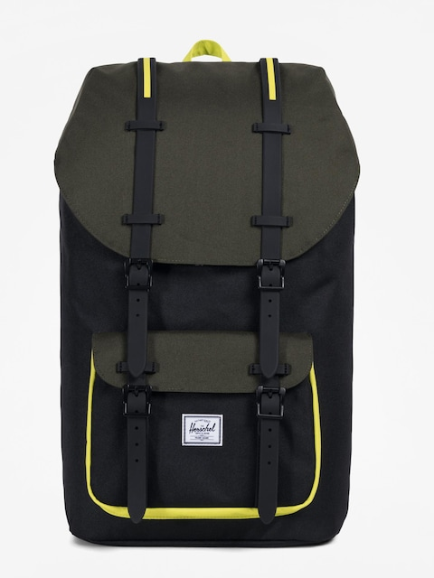 Herschel Supply Co. Backpack Little America (black/forest night/evening primrose)