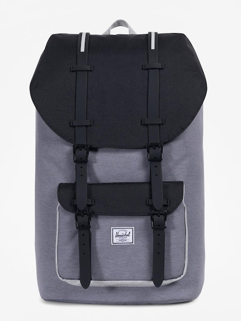 Herschel Supply Co. Rucksack Little America (mid grey crosshatch/black/light grey crosshatch)