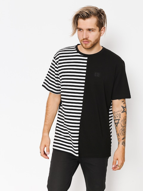 The Hive T-Shirt Black N Stripes (black/white)