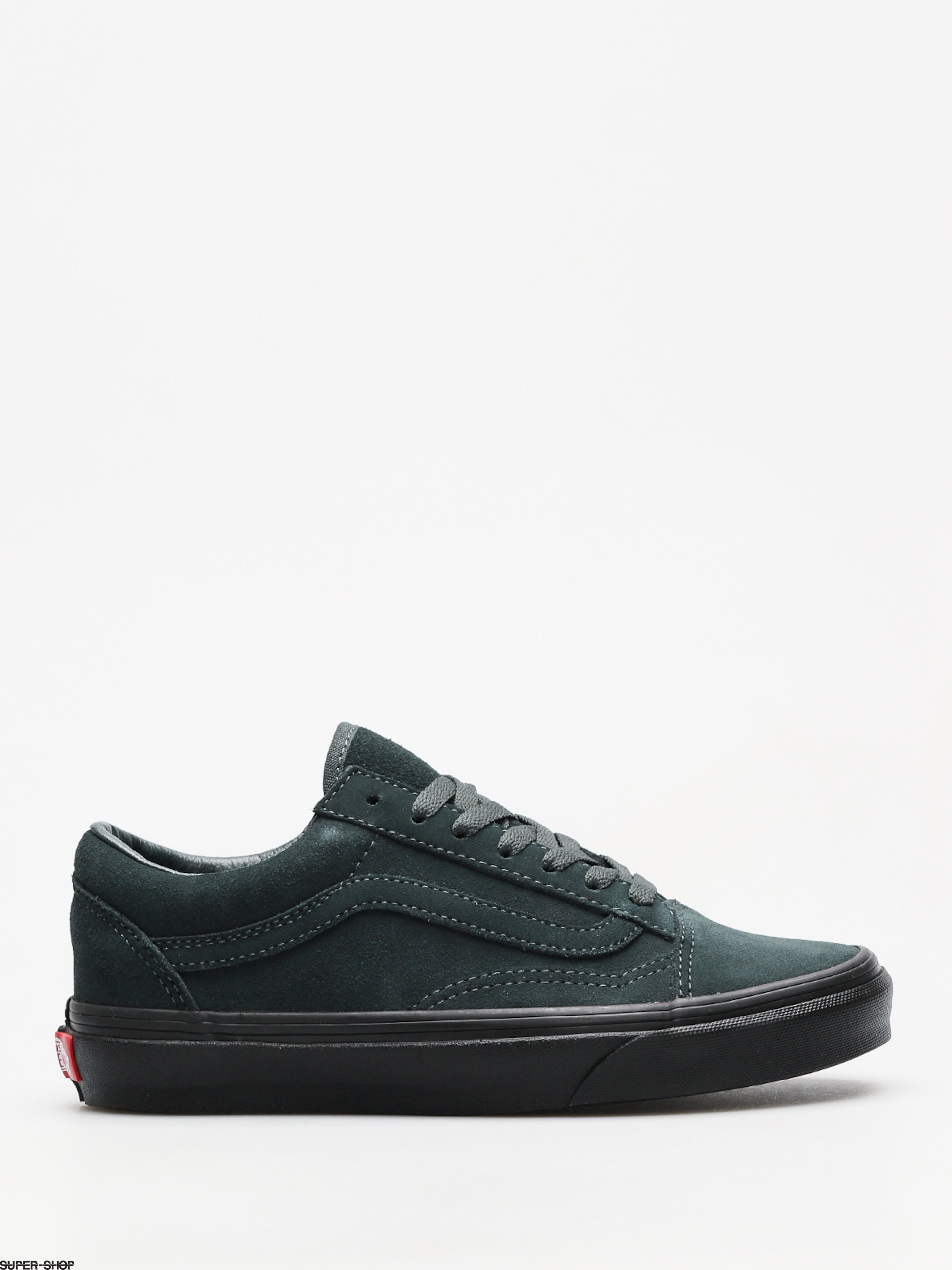 Vans Shoes Old Skool (darkest spruce black) 07fa70c0f