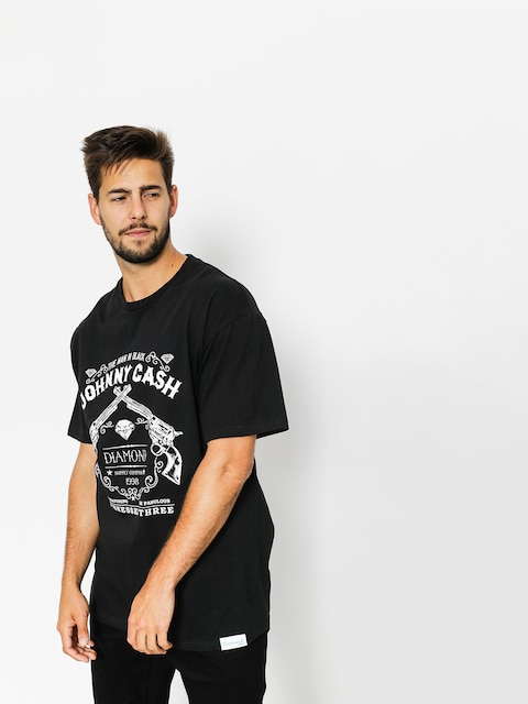 Diamond Supply Co. T-shirt Tennessee Three (black)
