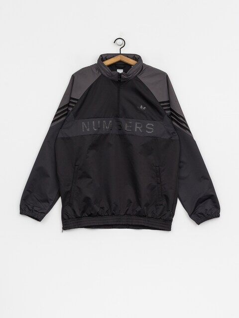 adidas Jacke Numberstop (black/grey five/carbon)