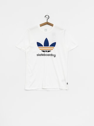 adidas T-shirt Clima 3.0 (white/collegiate royal/tactile yellow)
