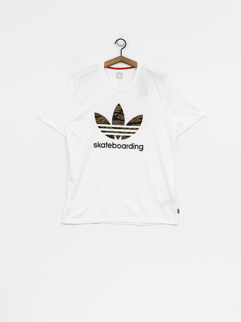 adidas T-Shirt Cmo 3.0 (white/camo print/collegiate orange)