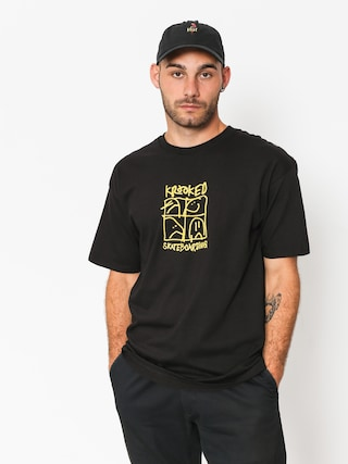 Krooked T-shirt Kd Ultra (black/yellow)