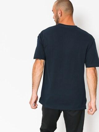 DGK T-shirt Never Sleeps (navy)