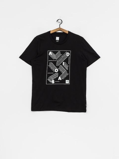adidas T-Shirt Rep (black/white)