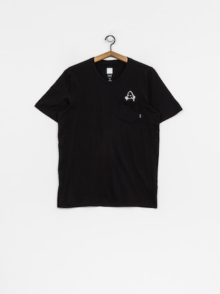 adidas T-Shirt Skt Pckt (black/white)
