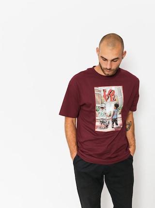 DGK T-shirt Lil Dgk (burgundy)