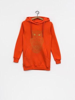 Majesty Hoody Owl Lady HD Wmn (orange)