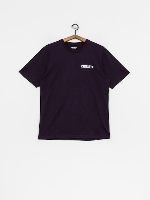 Carhartt WIP T-Shirt College Script (lakers/white)