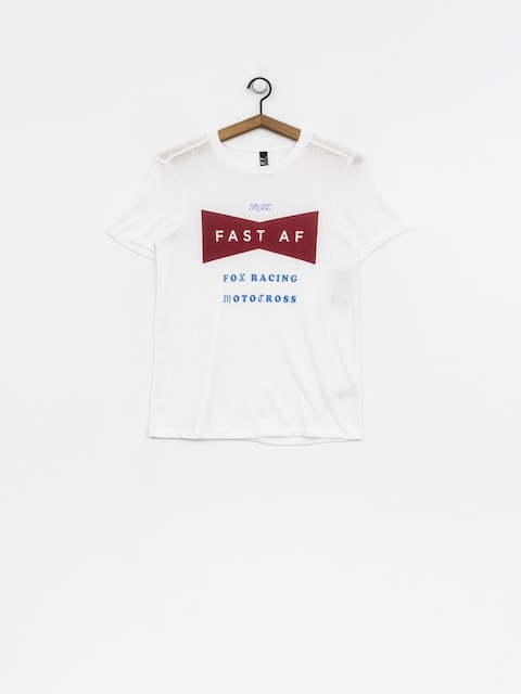 Fox T-Shirt Fast Af Wmn (wht)