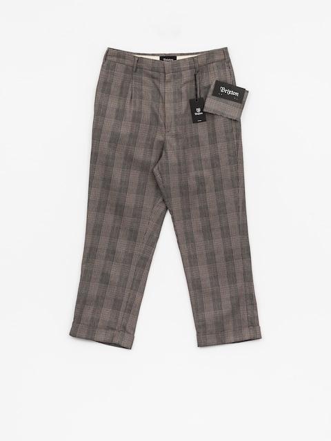 Brixton Hose Regent Trouser (grey plaid)