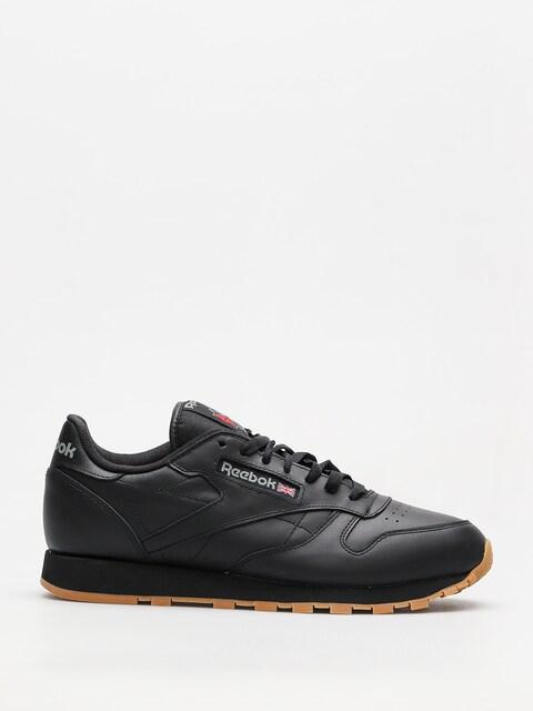 Reebok Schuhe Cl Lthr (black/gum)