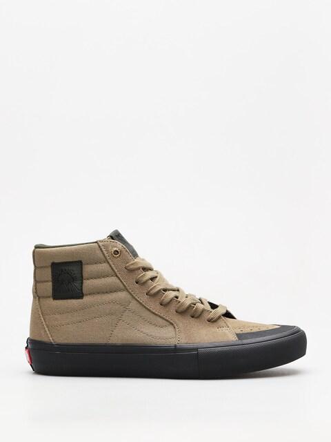 Vans Schuhe Sk8 Hi Pro (dakota roche covert green/black)
