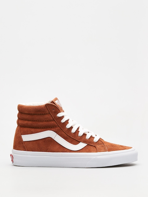 Vans Schuhe Sk8 Hi Reissue (leather brown/true white)