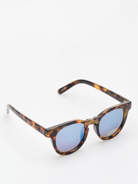 Vans Sonnenbrille Wellborn II Shades (cheetah tortoise/royal blue mirror)