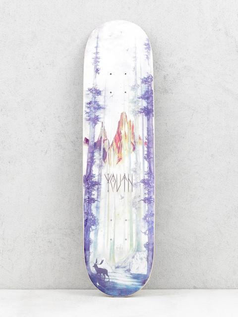 Youth Skateboards Deck Forrest (blue)