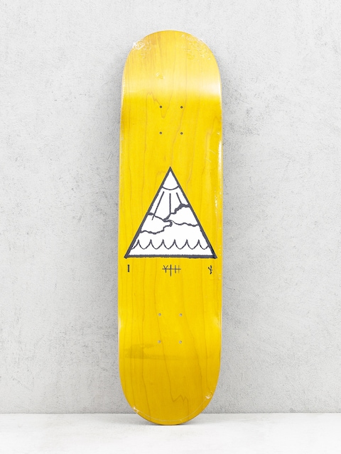 Youth Skateboards Deck Triangle Logo (yellow)