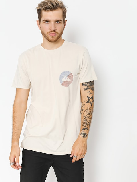 Quiksilver T-shirt Shook Up (oatmeal)